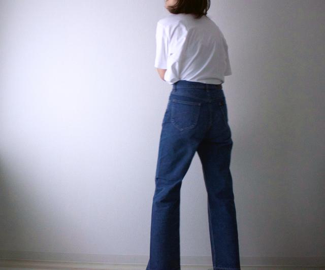 【モデル竹下玲奈さん&Lee】コラボ第一弾♡デニムを履いてみた_1_7