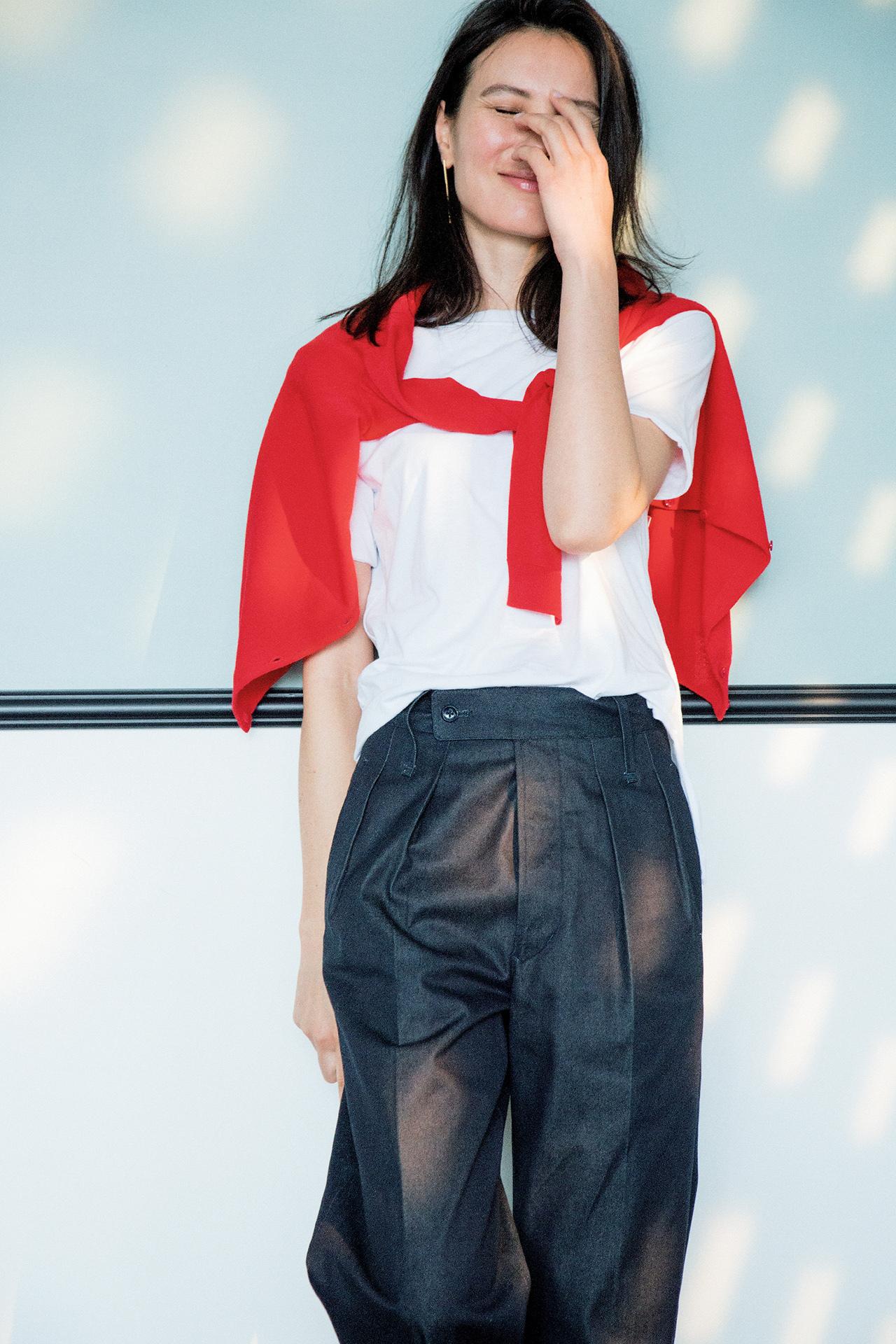 エクラ世代が安心して着られる! 特選ブランドのTシャツでお出かけを 五選_1_1-3
