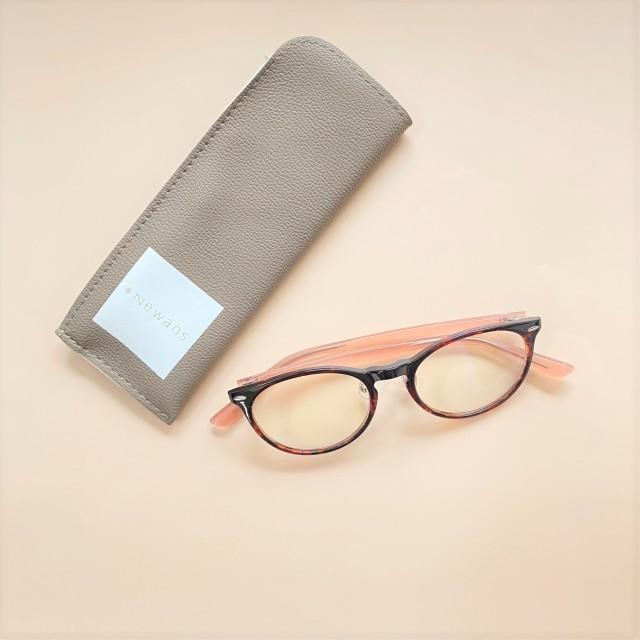 お土産にいただいたブルーライトカット眼鏡