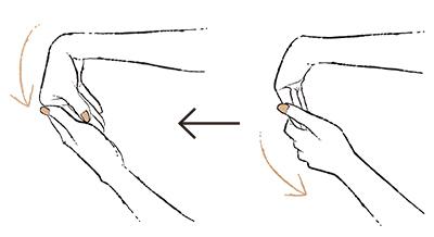 """1. 指を伸ばすとばねのように戻る """"ばね指""""【50代のお悩み・更年期の手指問題】_1_2-1"""