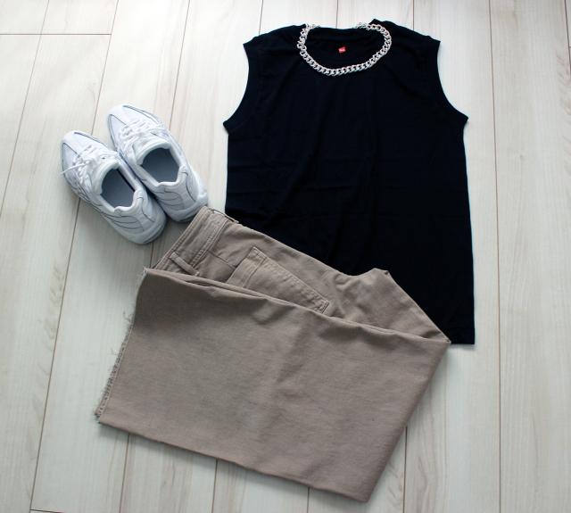 『Hanes』×『BIOTOP』ノースリーブTシャツで真夏を乗り切る♪_1_5