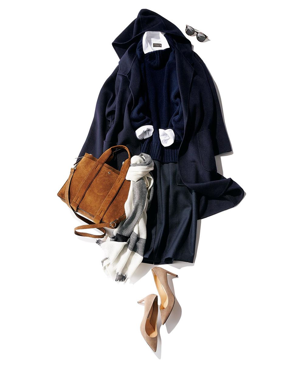 スタイリスト福田亜矢子さんがこの冬「茶色バッグ」を取り入れるなら?_1_3