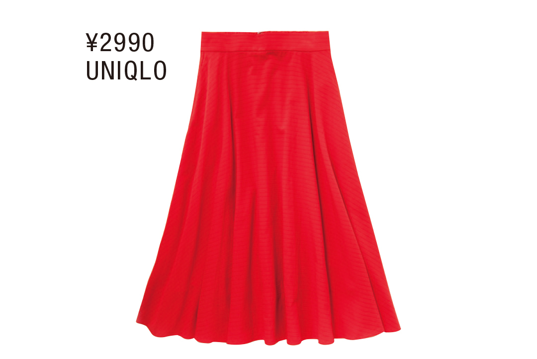 1000円台~の夏まで着られるコスパ服は「赤」が狙い目! ユニクロほか4選♡ _1_2-1