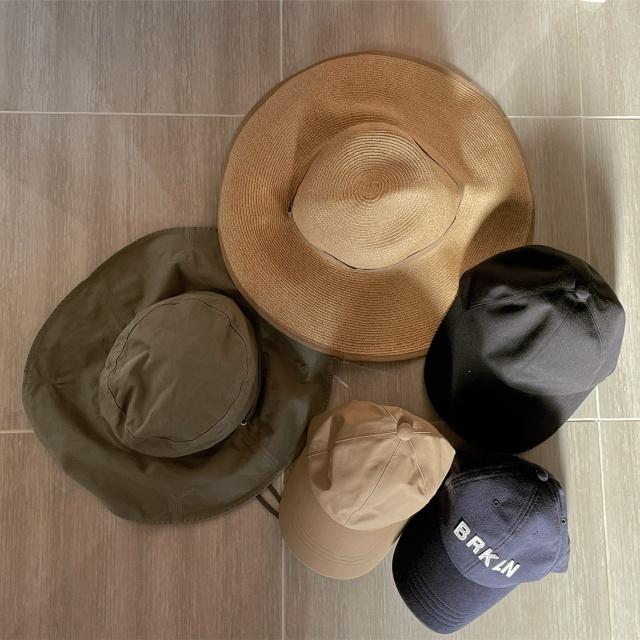 アラフォー夏の帽子コレクション_1_7