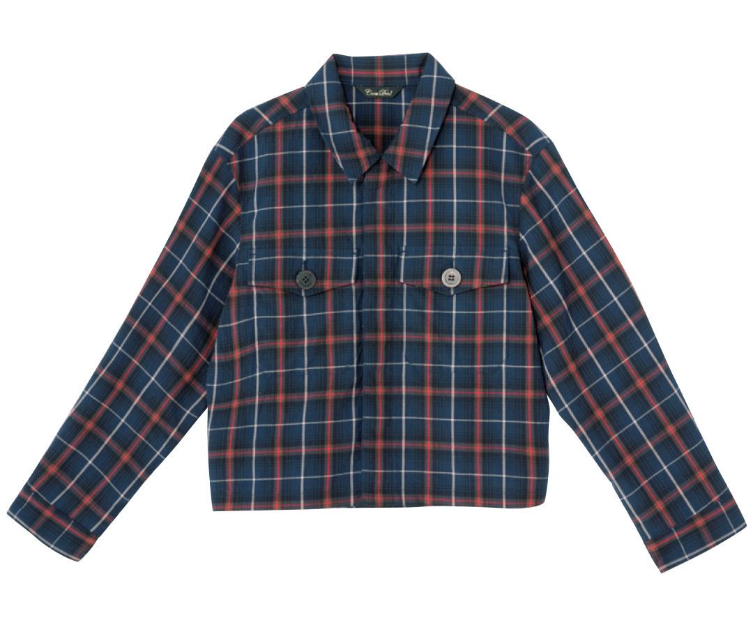 ポストGジャン★この秋はシャツ型アウターがきてる!_1_3-5