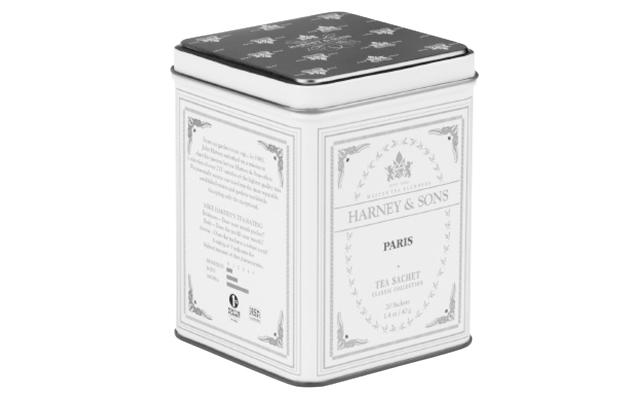ワンダーリリーのハーニー&サンズParis 20サシェ入り缶