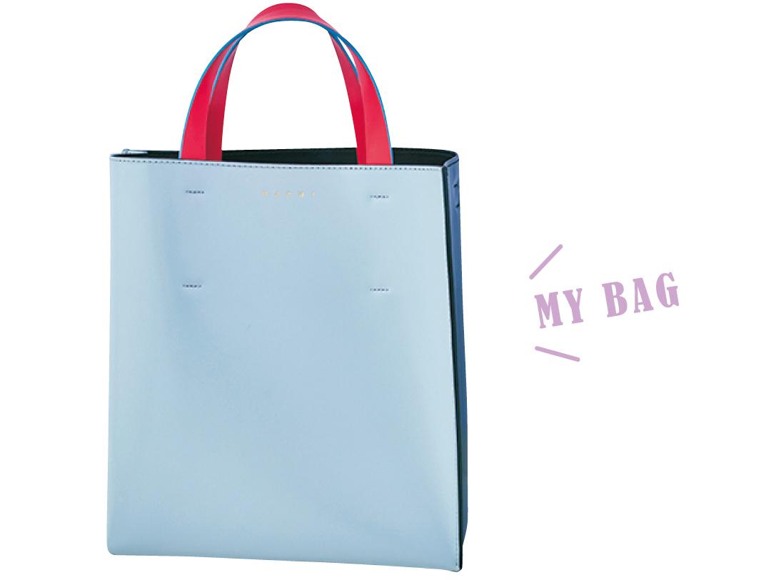 堀田真由のMARNIのバッグ