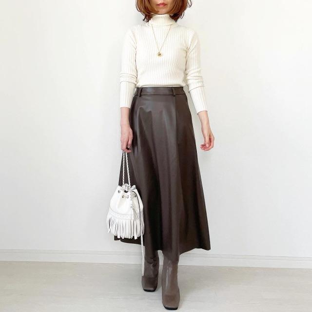 GU本当に買って良かったスカート!【tomomiyuコーデ】_1_8