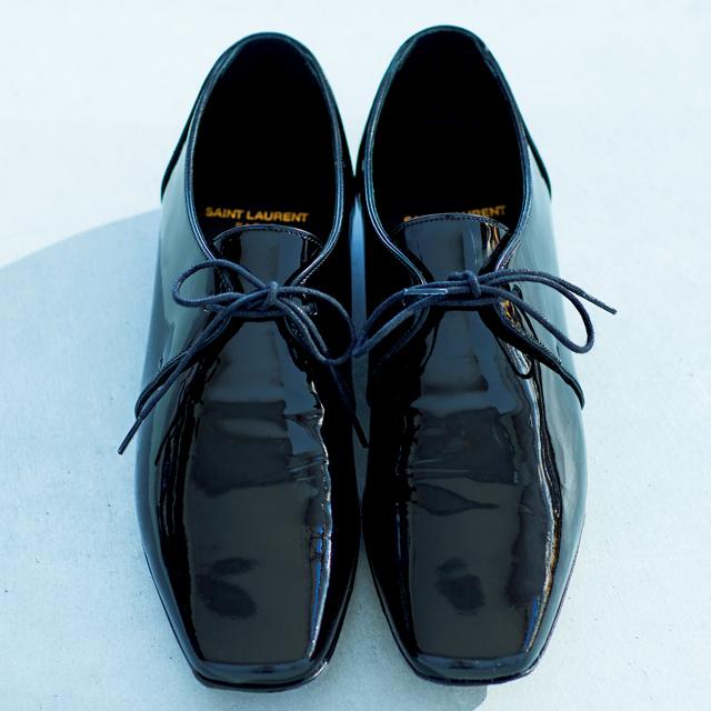 サンローラン 甲深靴