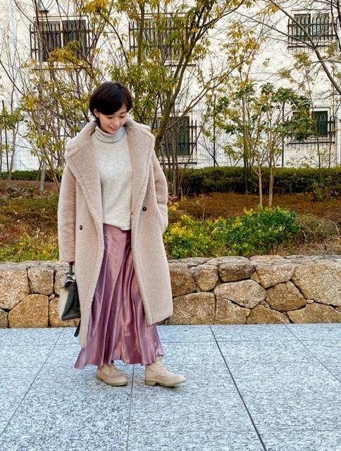 愛着服×ZARAのフェミニンスカート_1_2