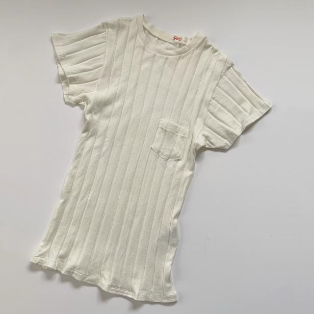 私の定番白Tシャツはこれ!YOUNG & OLSENの名品リブTシャツ_1_2