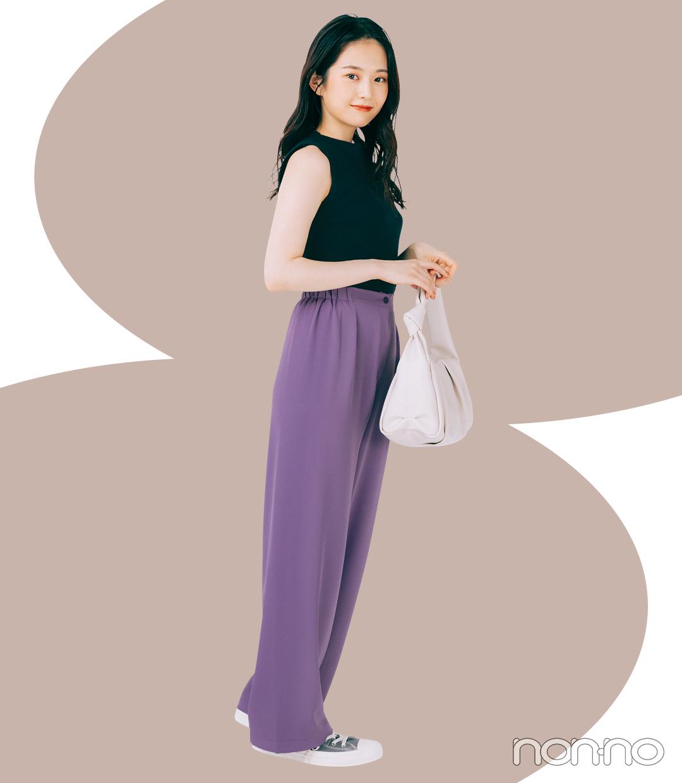 イエローベース秋さんにおすすめの秋旬色モデルカット3-7