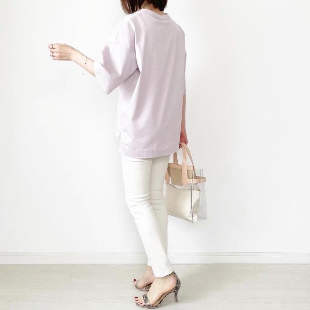 『UNIQLO+J』やっぱりこれが好き♡神Tシャツ着まわし【tomomiyuコーデ】_1_5