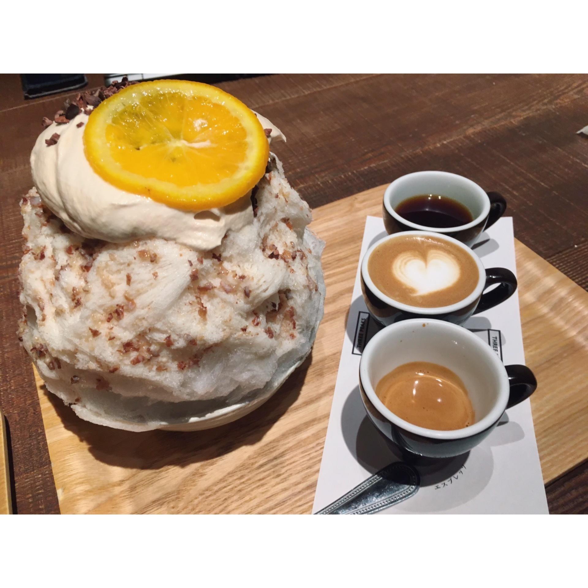コーヒーと相性抜群?!フォトジェニックなかき氷☆_1_3