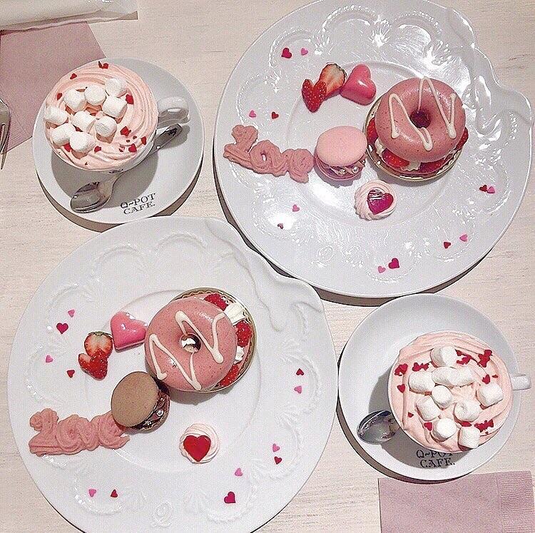 Vol.37♡ 可愛すぎる!Q-pot CAFE.のバレンタイン限定メニュー❤︎_1_3