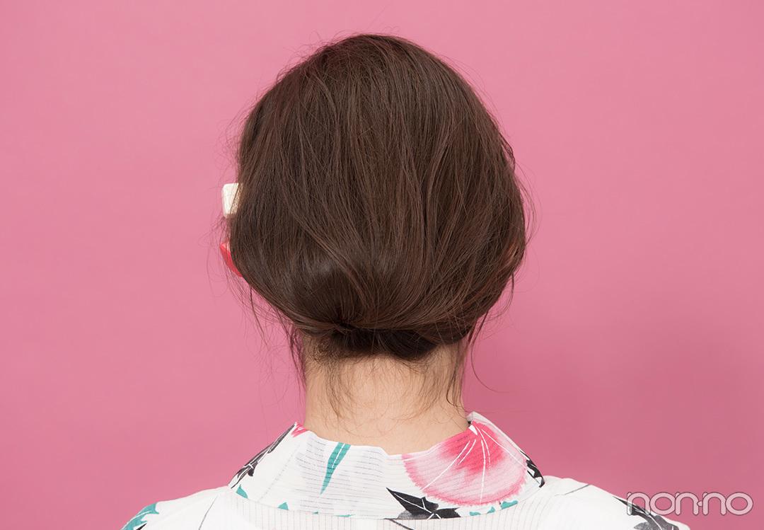 ゆかたの髪型・ロング大人編♡ 簡単&色っぽまとめ髪をチェック!【ゆかたの着付けと髪型】_1_2