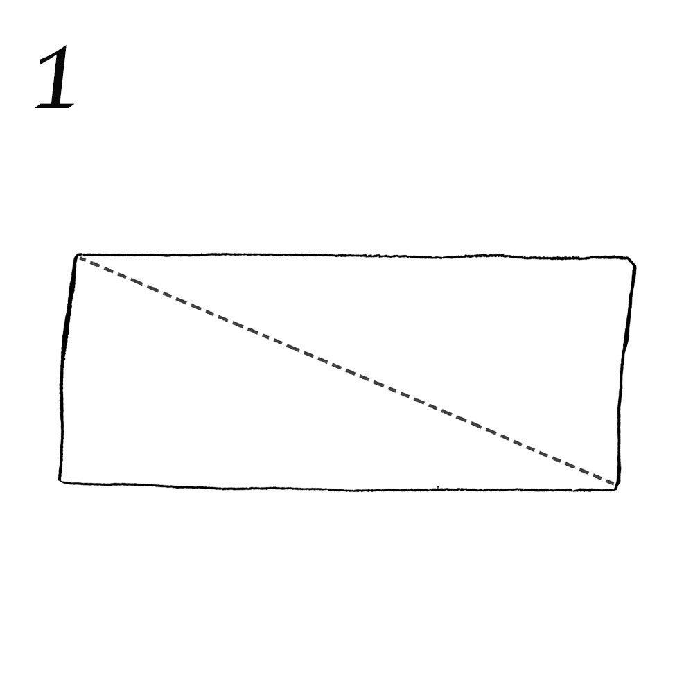 ストールの簡単ひと巻き方法1