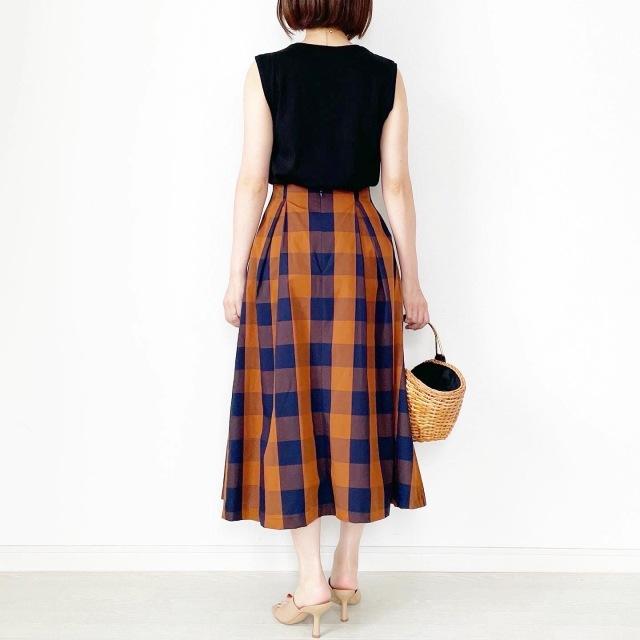 夏から秋まで!長く着られるスカート【tomomiyuコーデ】_1_3