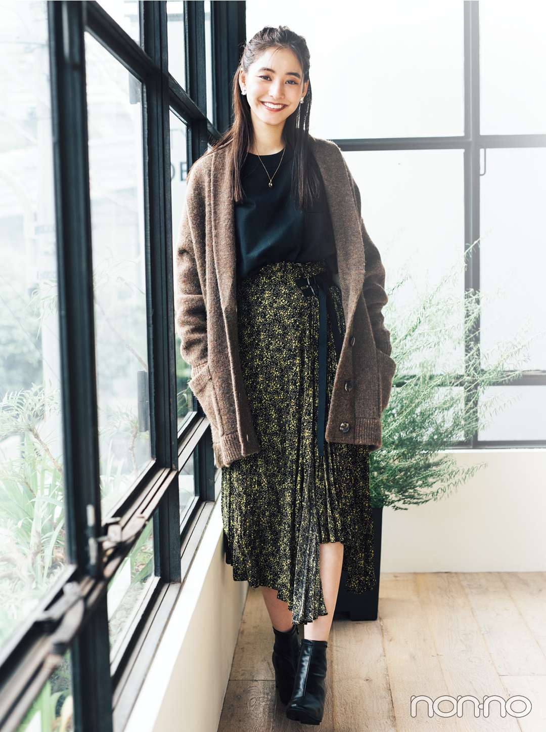 おしゃれ上手な新木優子がこの秋キープした服って?_1_2