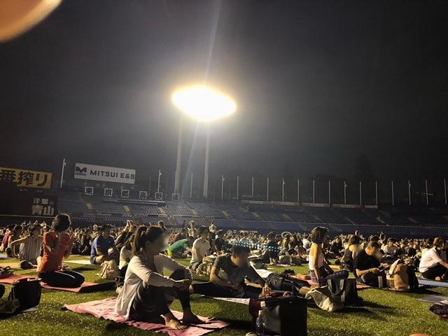 JINGU STADIUM NIGHT YOGA 2018_1_1