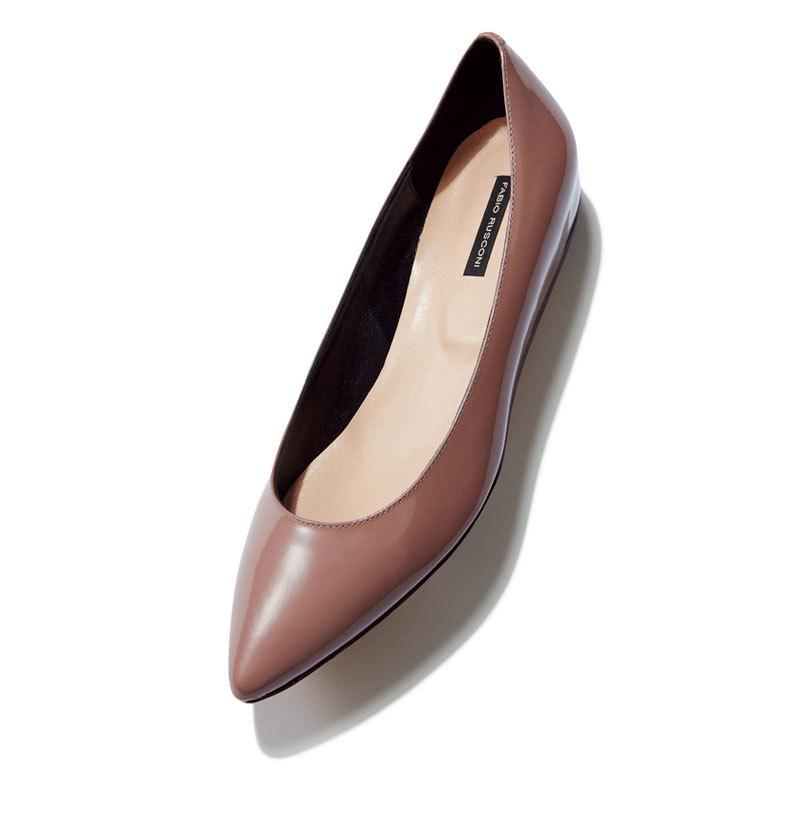 秋らしい素材、 モチーフを選択肢に。とんがりフラット靴9選_1_1-6