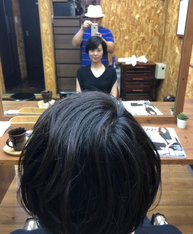 髪切りました in Autumn_1_1-2