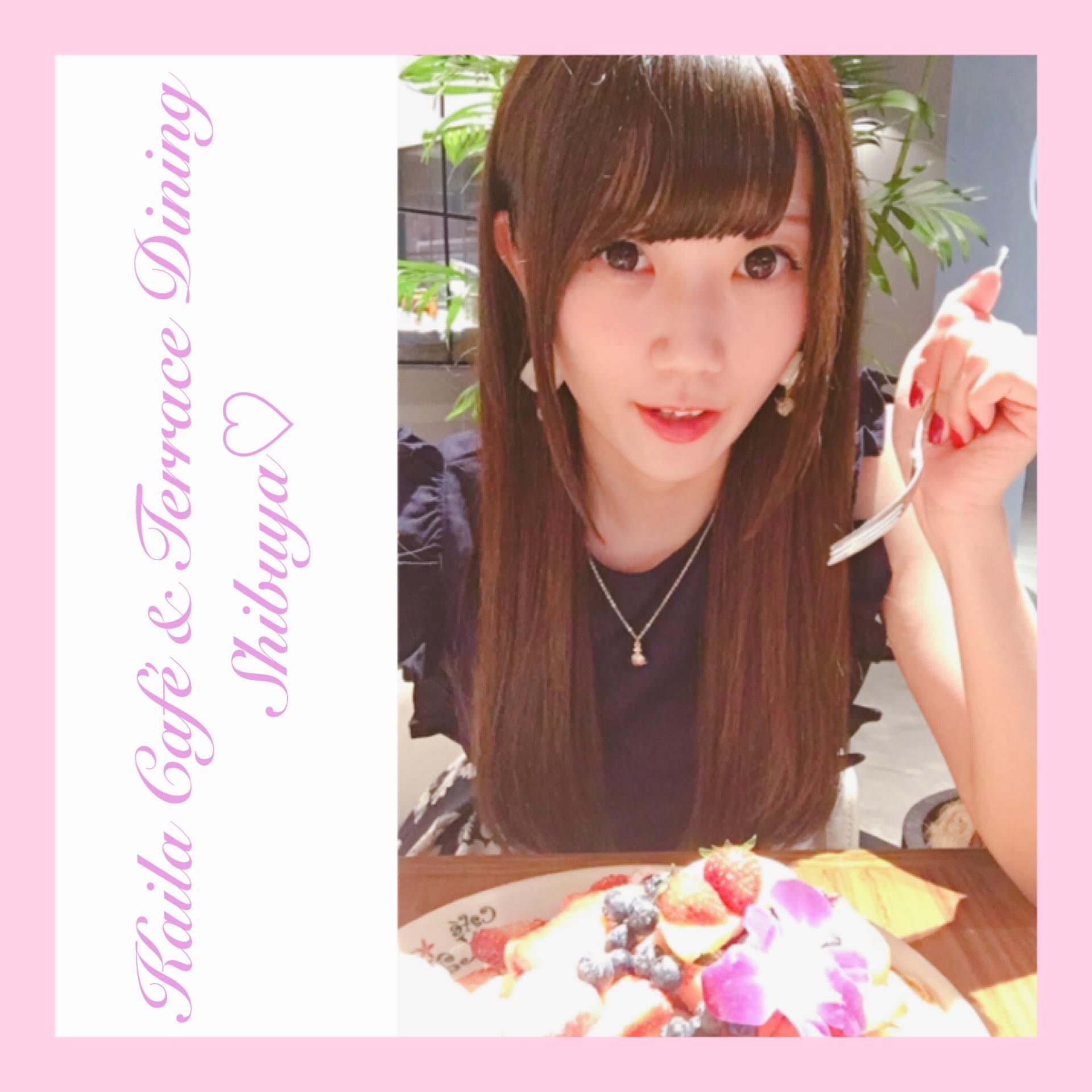 《Kaila Café & Terrace Dining Shibuya》オリジナルパンケーキ♫♡_1_2-2