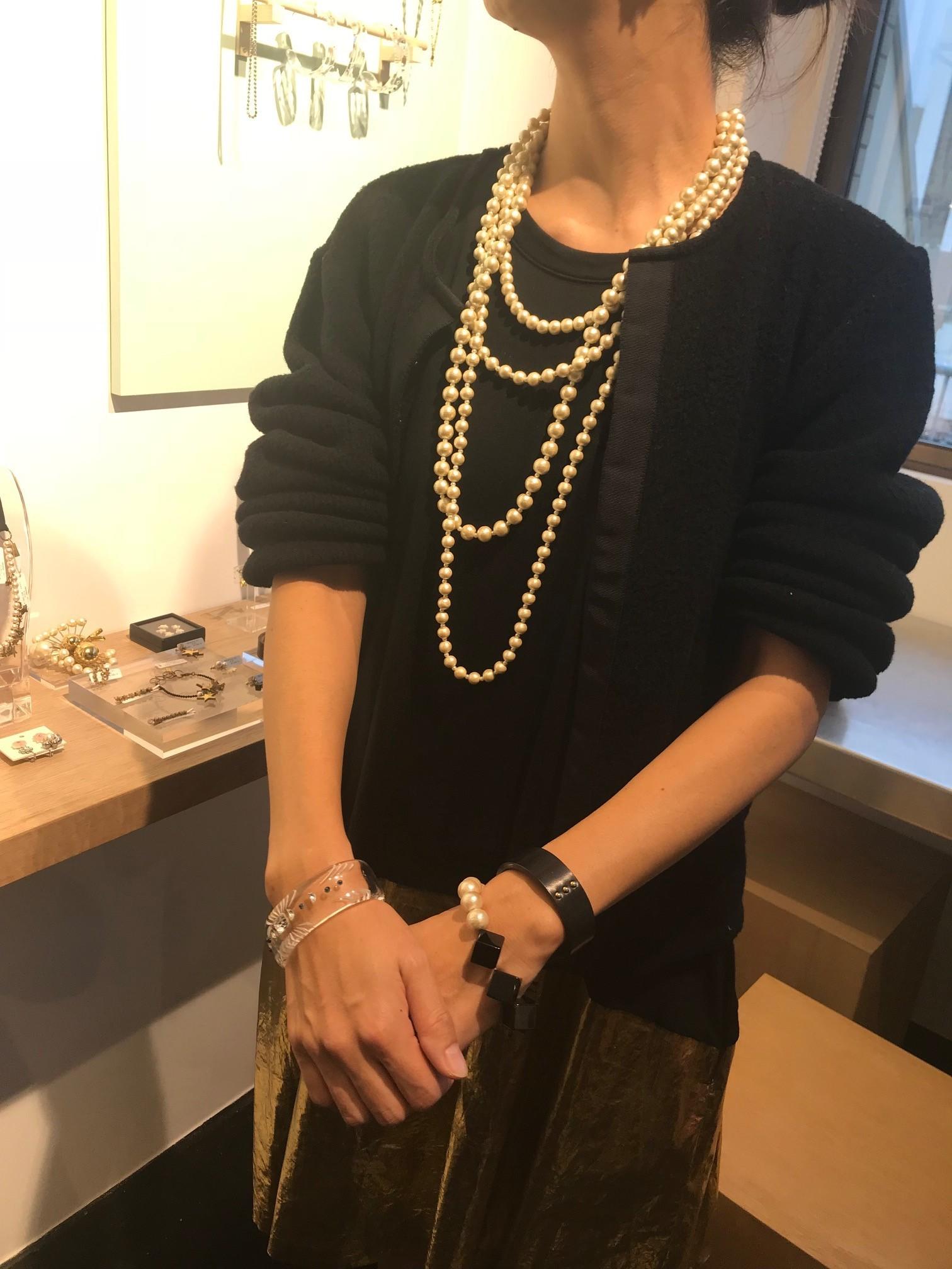 petite robe noire / YOSHIYO 2018春の展示会へ_1_5-1