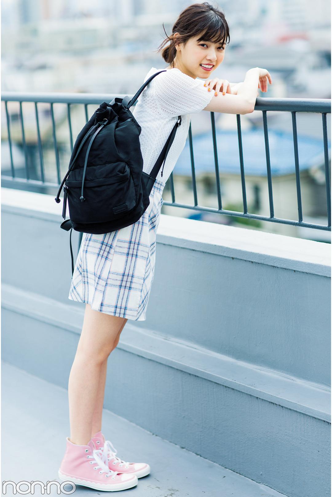 """子どもっぽく見えない!西野七瀬の""""甘く着ない""""夏のミニスカートが可愛い♡_1_3-4"""