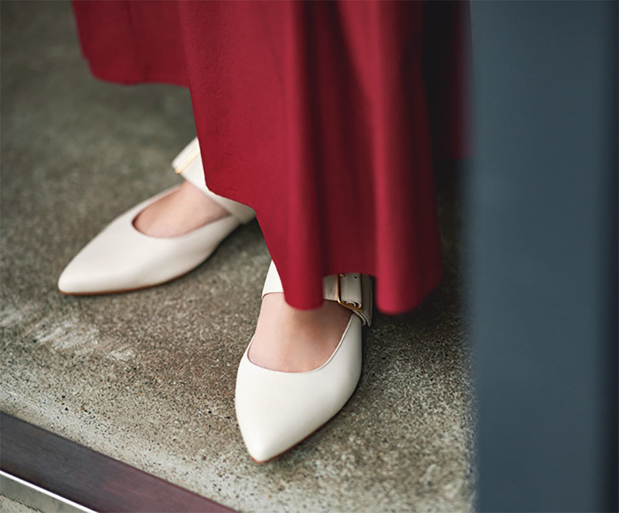 小柄なアラフォー女性におすすめのファッショントレンドは? スタイルアップのテクニック集_1_2
