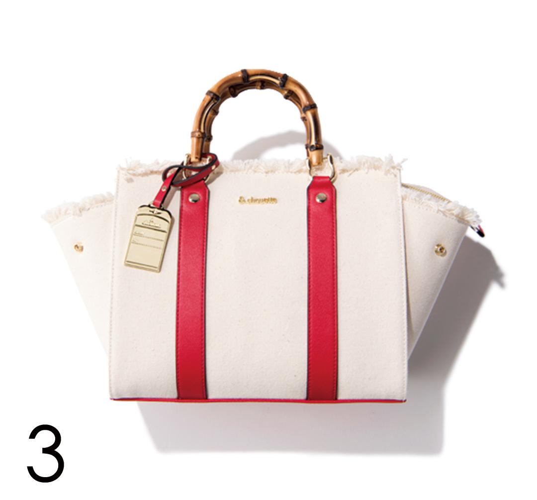 さりげないのに好印象♡ バッグで赤を取り入れる!_1_4-3