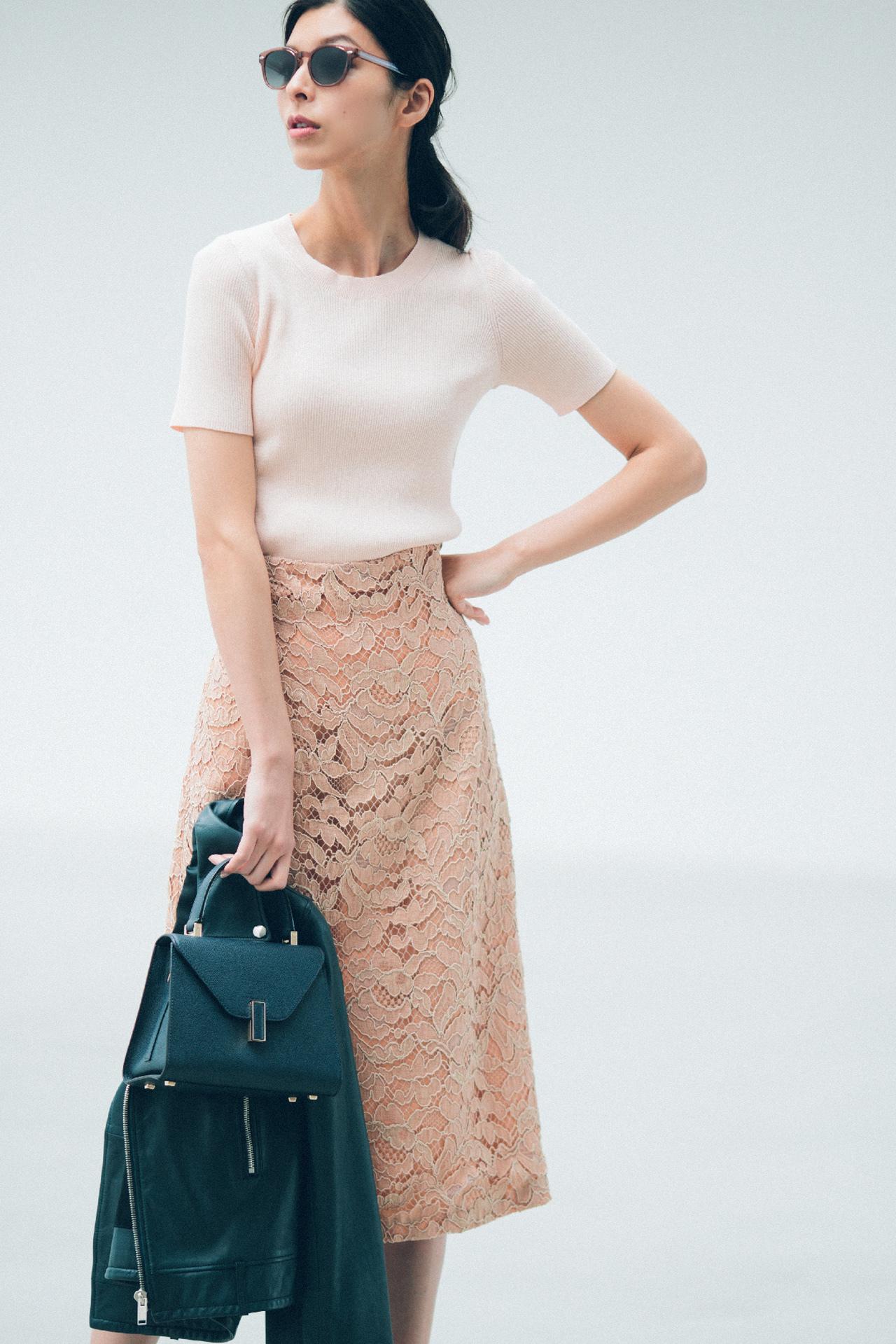 ピンクのスカートで、大人のかわいげを発揮! 五選_4_1