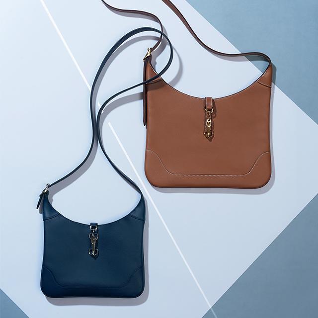 デザインが特徴的なHERMÈS(エルメス)のバッグ