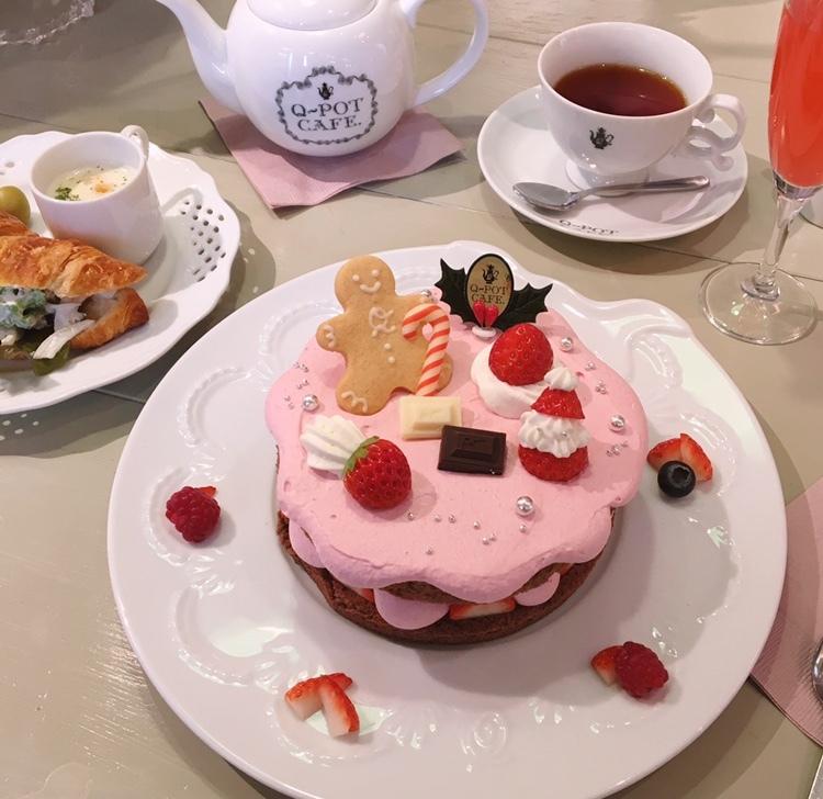可愛すぎる!Q-pot CAFEのクリスマス限定メニュー♡_1_2