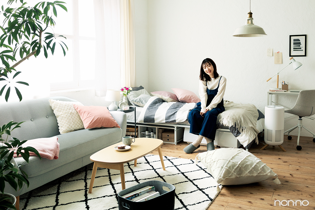ニトリのベッドやテーブルなど。allニトリでつくるおしゃれな部屋☆_1_3