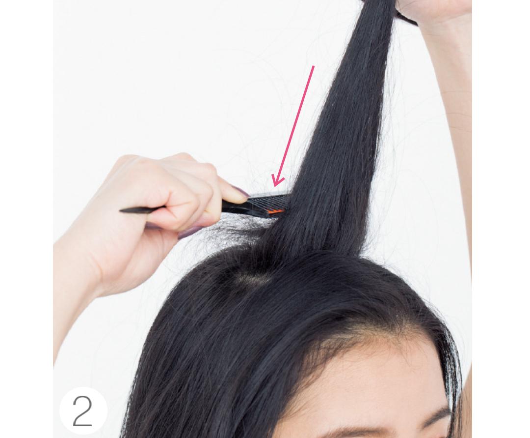 「逆毛をたてる」ってどうやるの? 【ヘアアレンジの小悩み解決】_1_2