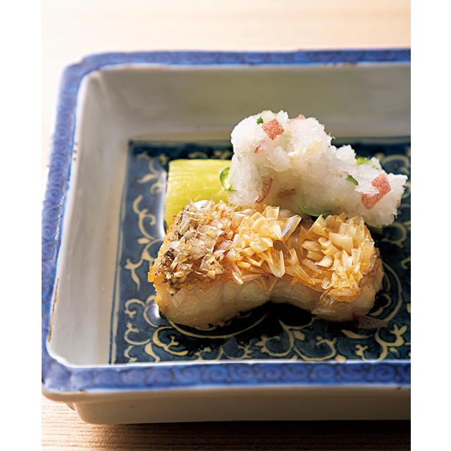 京都の二条にある和食レストラン「二条 やま岸」の先付