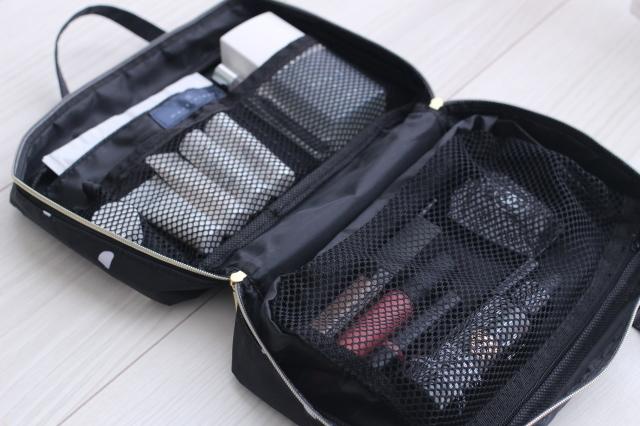 マリソル6月号の付録マルティニーク「女っぷりトラベルコスメminiバッグ」の使い方実例2