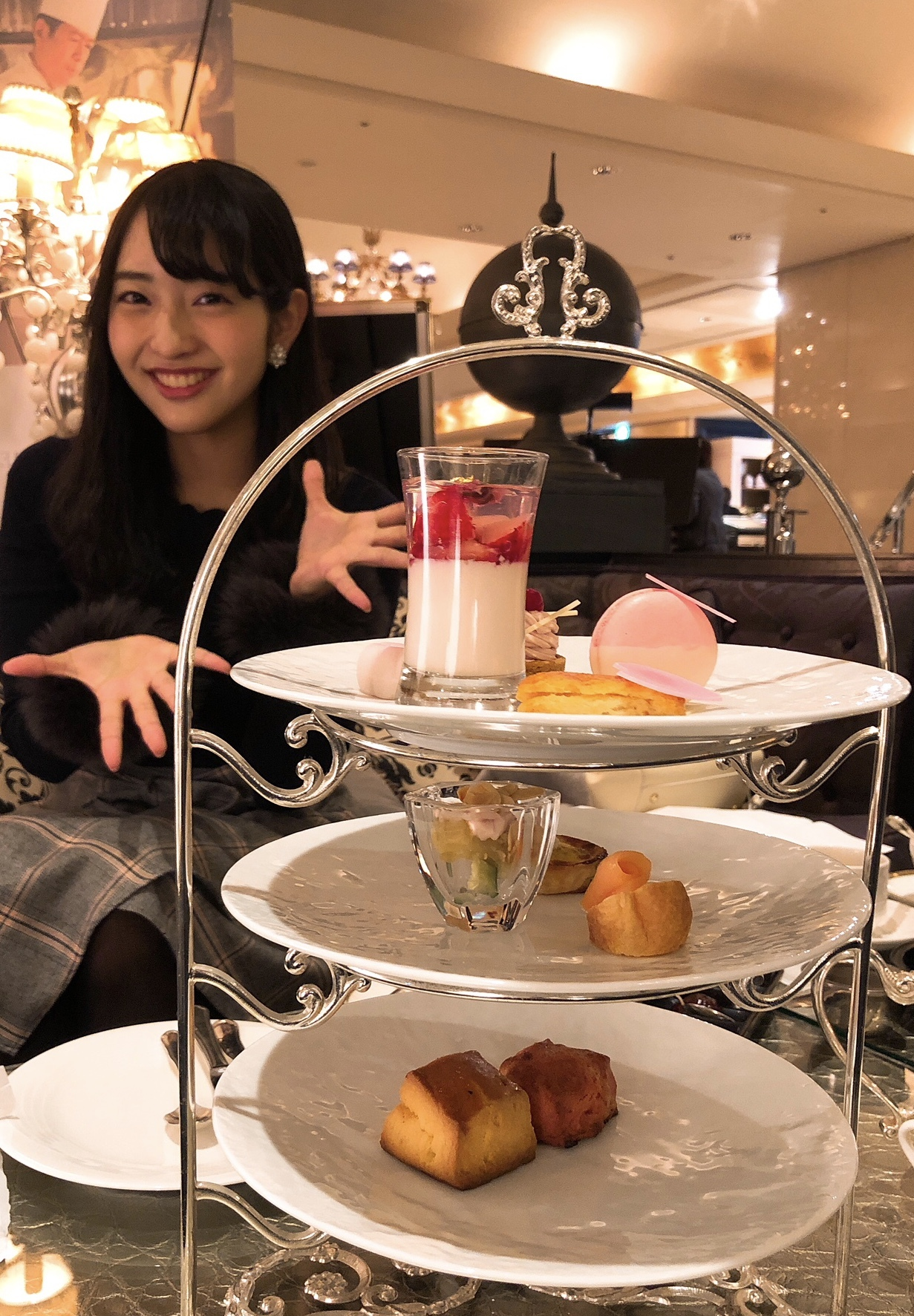 ♡豪華♡幸せ♡ホテルインターコンチネンタル東京ベイ《桜と苺のアフタヌーンティー》_1_3