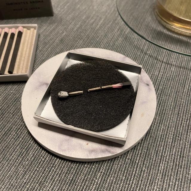 マッチ型お香「hibi」と白茶で夜のリラックスタイム_1_8