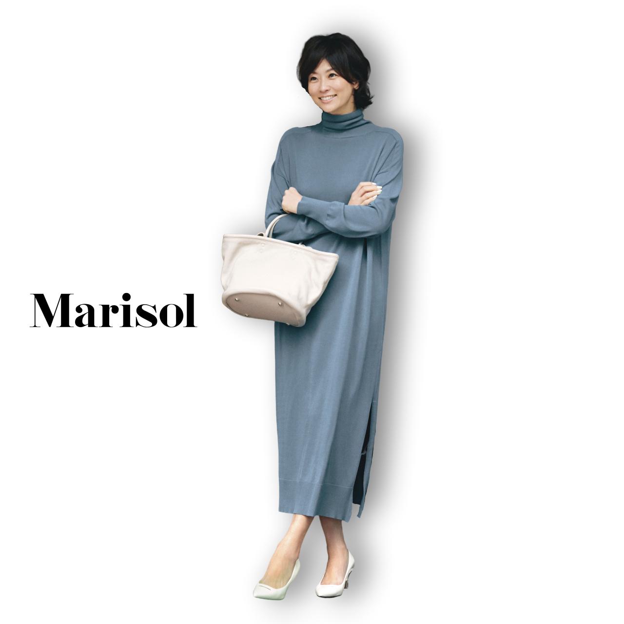 40代ファッション マキシ丈ロングワンピースコーデ