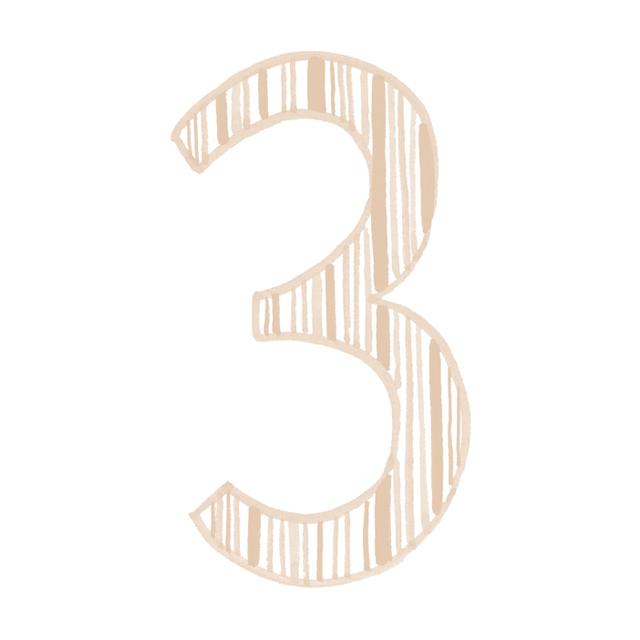 イヤーナンバー3