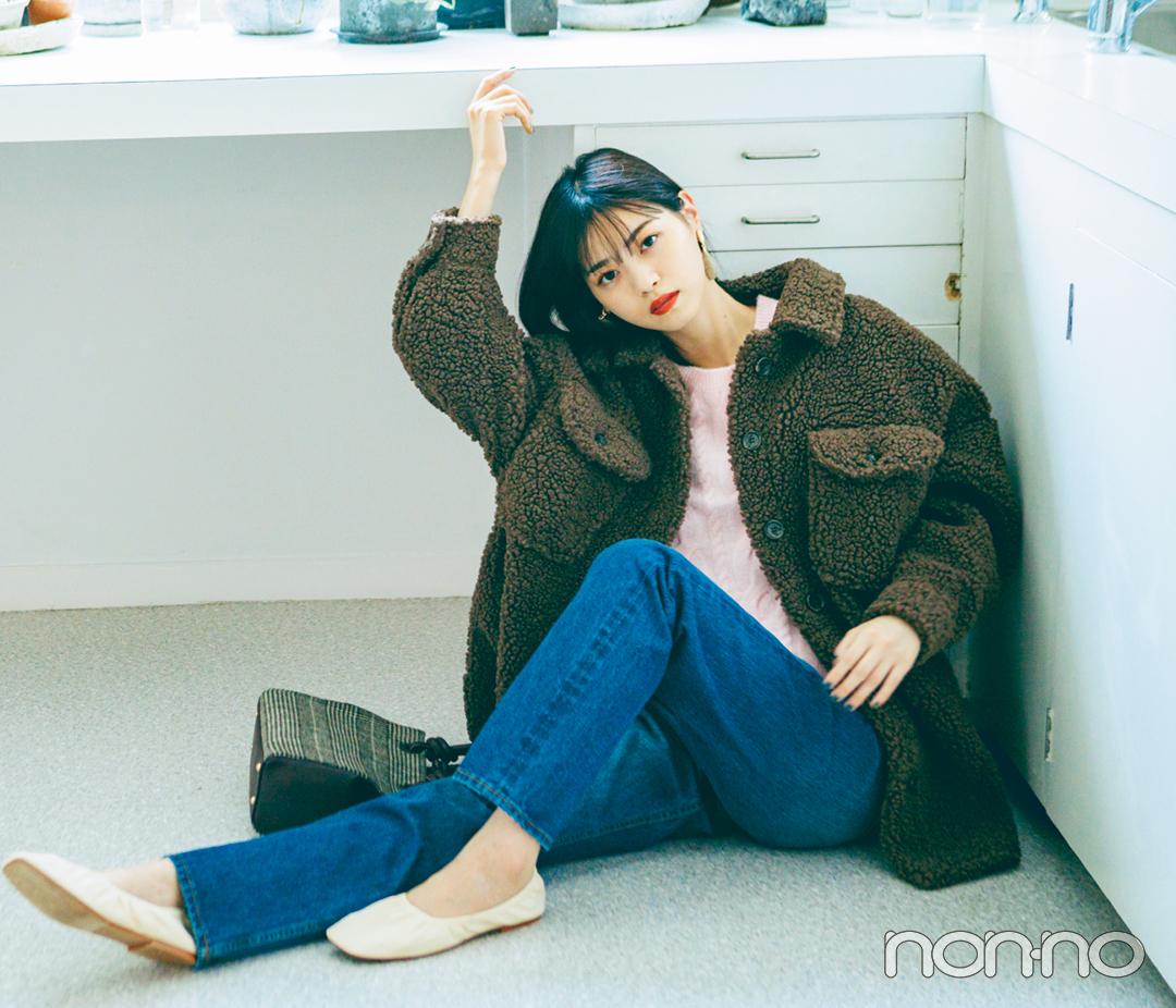 西野七瀬の推し服はボアブルゾン♡ モコモコが可愛すぎ!_1_2