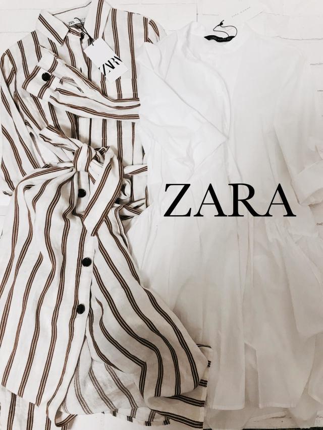 ZARAの春服はシャツワンピースが可愛い♪_1_1
