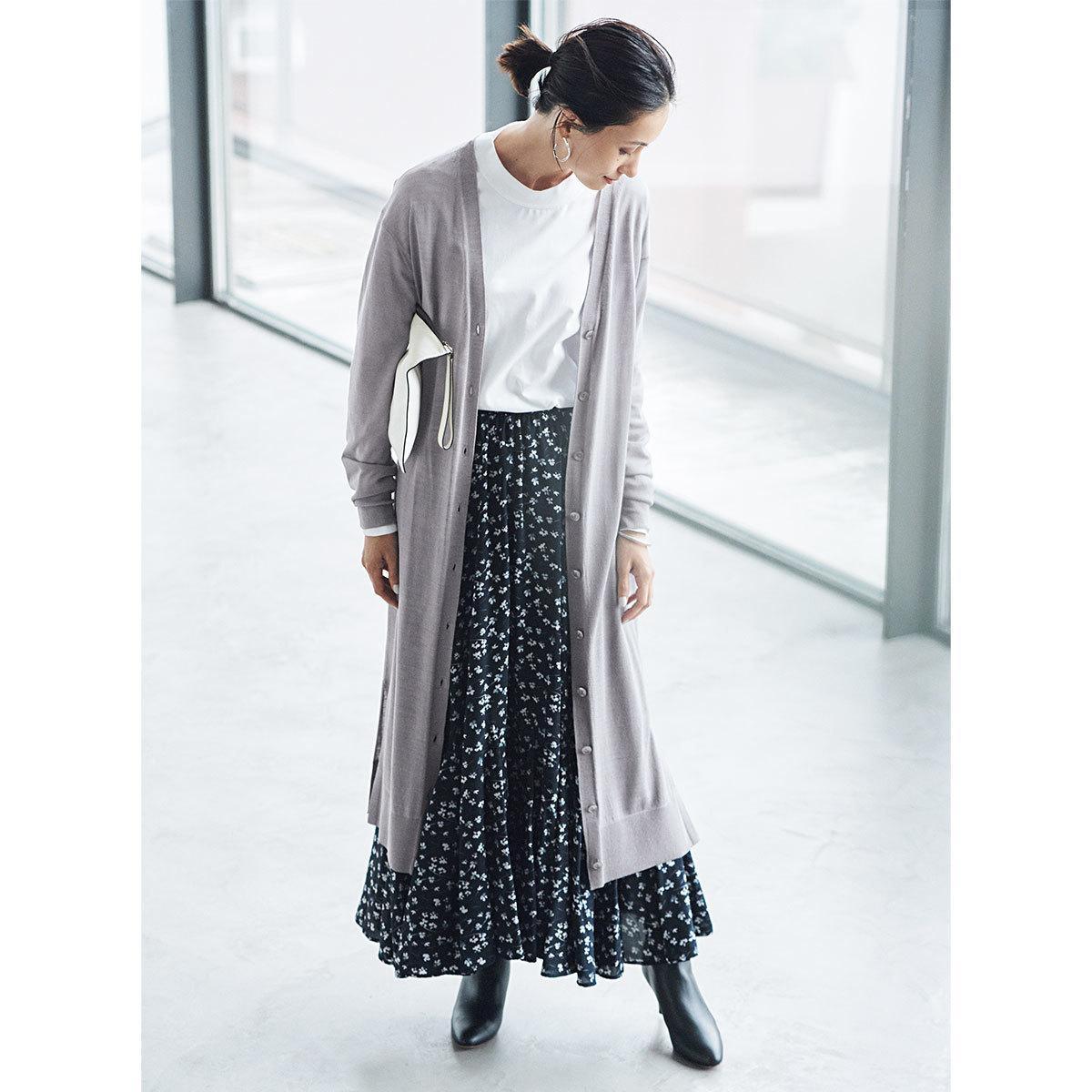 平均気温25度の初秋にベストな服装は? 季節の変わり目に着たいコーデ|40代ファッションまとめ_1_9