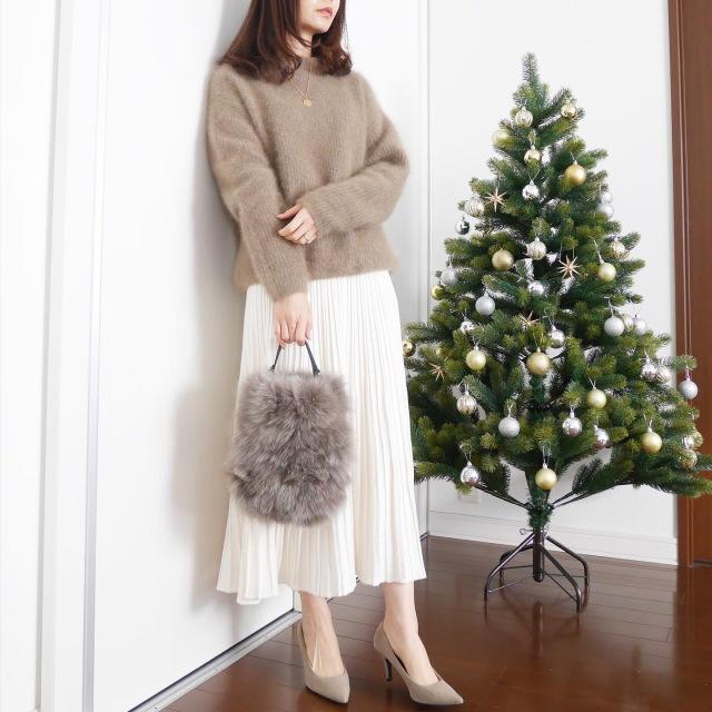 クリスマス何着よう?part2【tomomiyuの毎日コーデ】_1_1