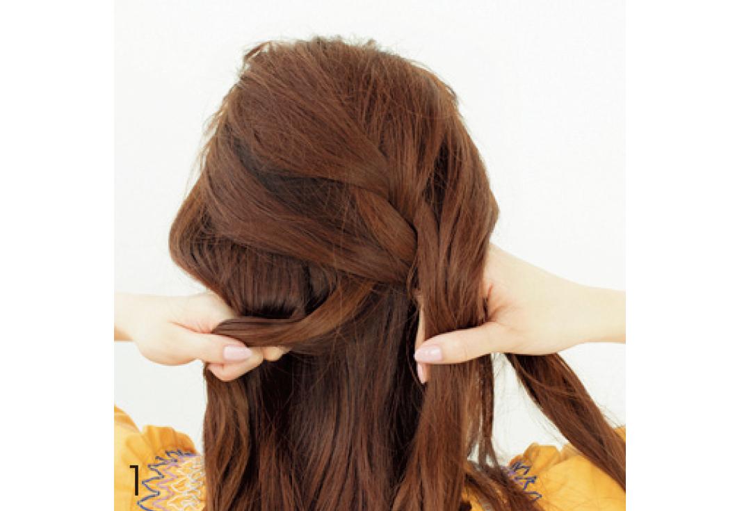 デートのヘアアレはちょい色っぽ♡ ゆる編み込みで!_1_3-1