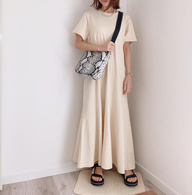 夏はふんわりワンピースで決まりっ!!【momoko_fashion】_1_3-1