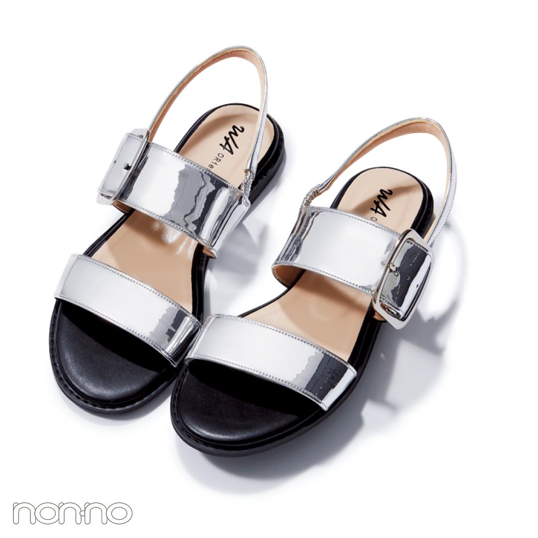 サンダル2019★楽ちんフットベッドサンダル、靴下コーデの正解教えます!_1_4-2