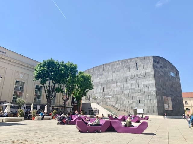 ウィーン レオポルド美術館 シーレ クリムト MQ